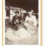 昭和20年代の選果風景